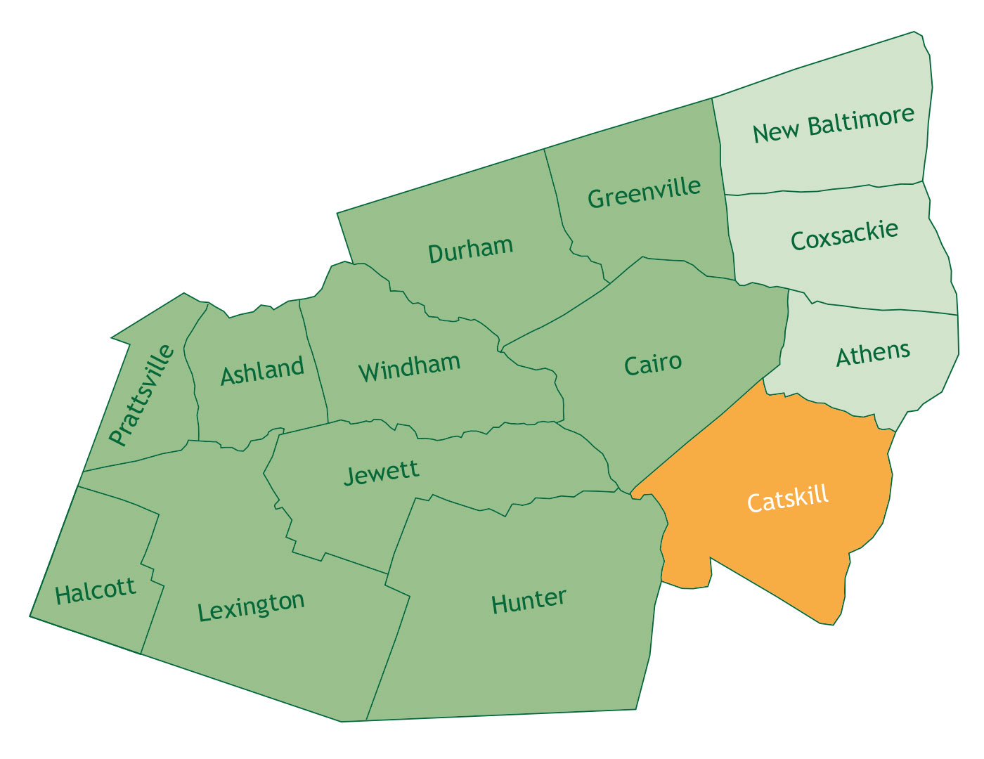 Catskill in Greene County